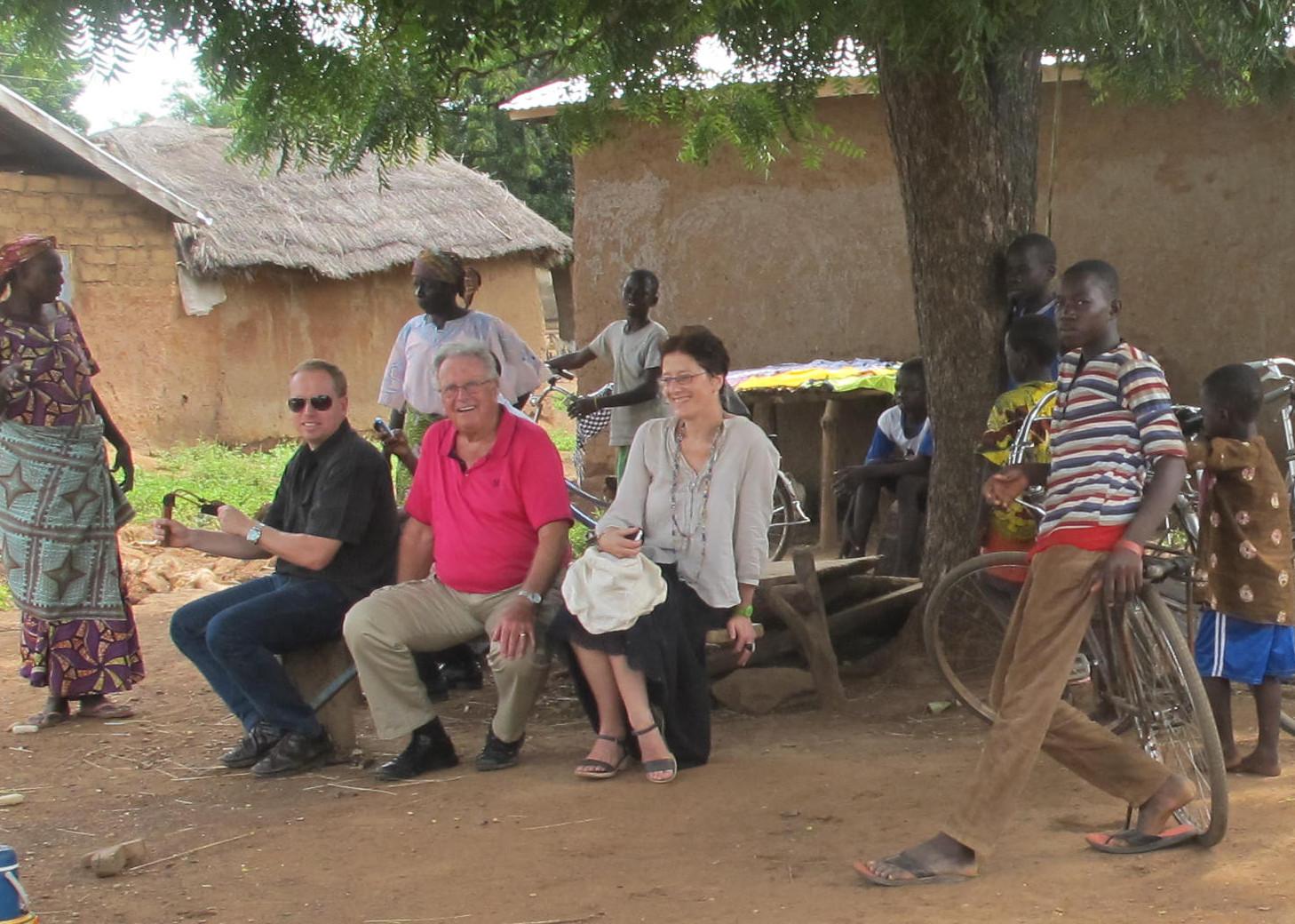 Philippe in Ghana